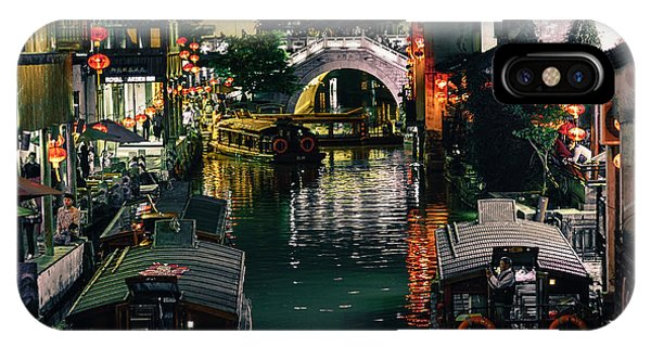 Canals Of Suzhou IPhone Case