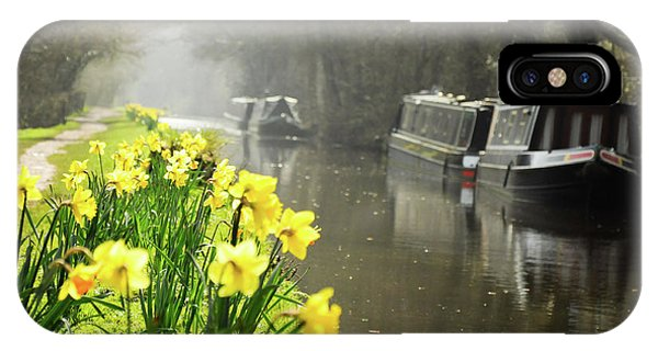 Canalside Daffodils IPhone Case