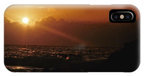 Canary Islands Sunset IPhone Case