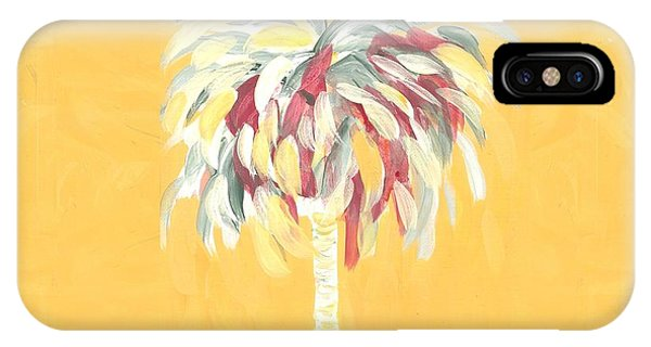 Canary Palm Tree IPhone Case