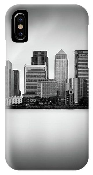 Canary iPhone Case - Canary Wharf II, London by Ivo Kerssemakers