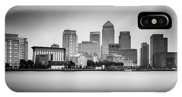 Canary iPhone Case - Canary Wharf, London by Ivo Kerssemakers