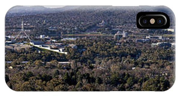 Canberra- Australia - Panorama From Red Hill IPhone Case