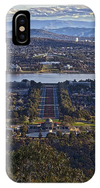 Canberra - Australia IPhone Case