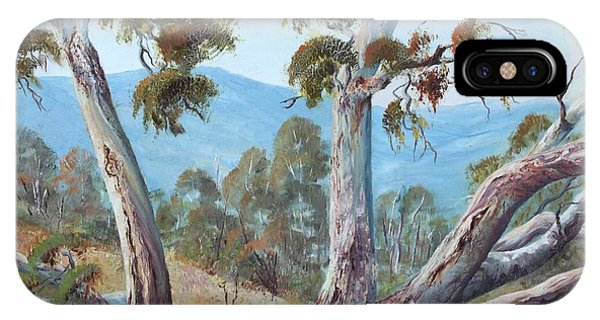 Canberra Hills IPhone Case