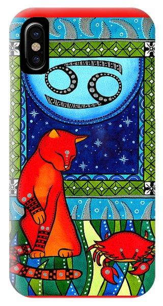Cancer Cat Zodiac IPhone Case