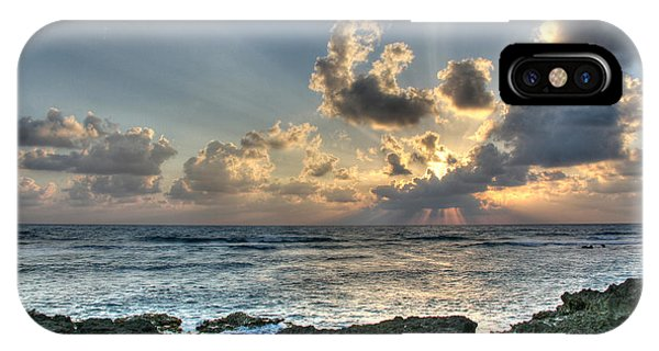 Maya iPhone Case - Cancun Sunrise A Morning In Heaven by Wayne Moran