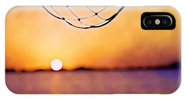Cancun Sunset On The Lake IPhone Case