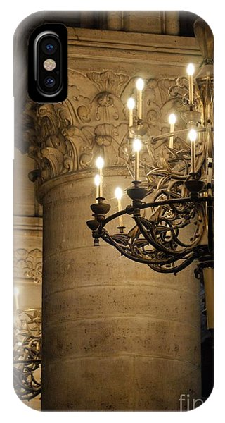 iPhone Case - Candelabra At Notre Dame by Christine Jepsen