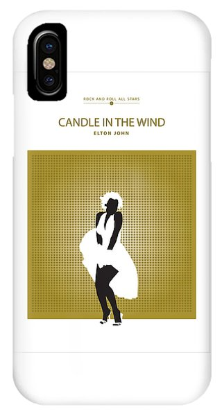 Candle In The Wind -- Elton John IPhone Case