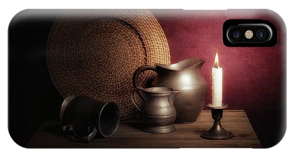 Candle Light Still Life IPhone Case