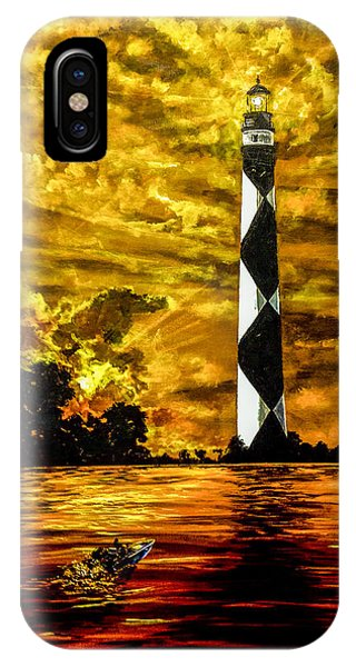 Candle On The Water IPhone Case