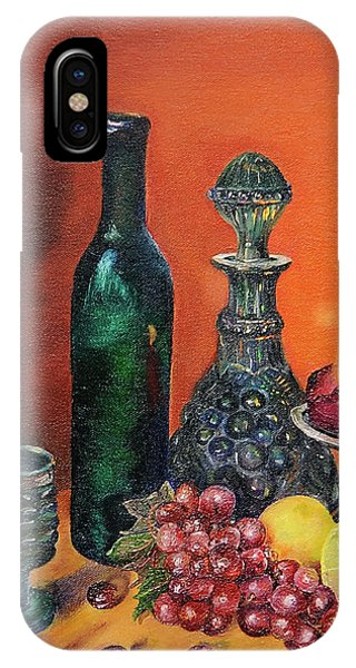 Candlelight Decanter IPhone Case