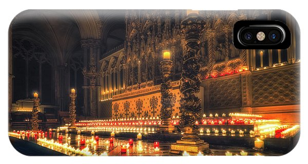 IPhone Case featuring the photograph Candlemas - Altar by James Billings