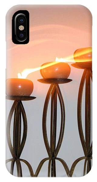 Candles In The Wind IPhone Case