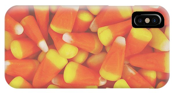 Or iPhone Case - Candy Corn Square- By Linda Woods by Linda Woods