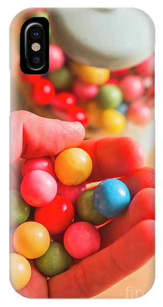 Dispenser iPhone Case - Candy Hand At Lolly Store by Jorgo Photography - Wall Art Gallery