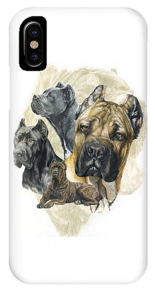 Rare iPhone Case - Cane Corso W/ghost by Barbara Keith