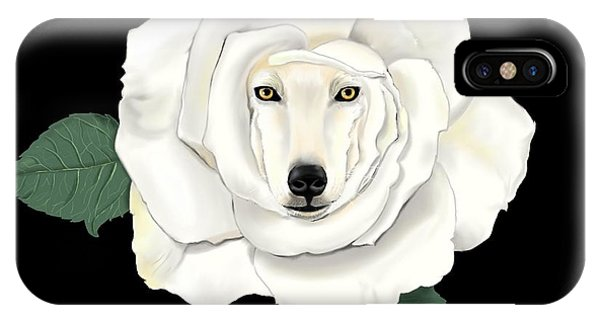 Canis Rosa IPhone Case