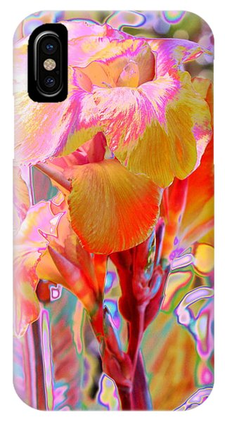 Canna Abstract 3 IPhone Case