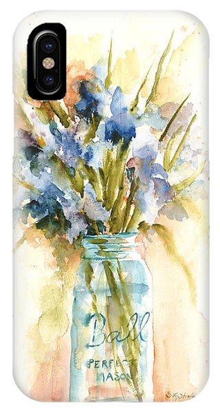 Canning Irises IPhone Case