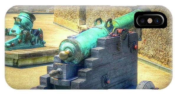 iPhone Case - Cannon At Castillo De San Marcos Fort by Debbi Granruth