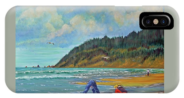 Cannon Beach Kids IPhone Case