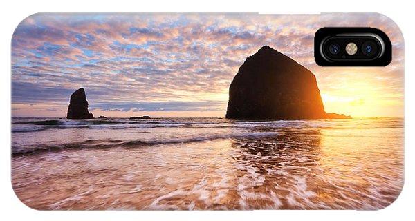 Cannon Beach Sunset Classic IPhone Case