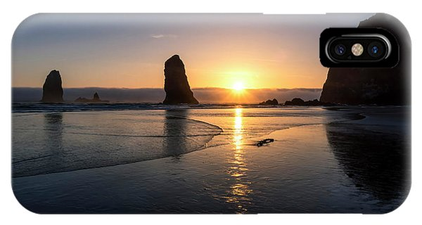 Cannon Beach Sunset IPhone Case