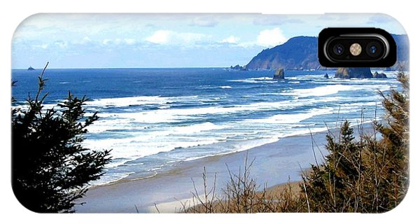 Cannon Beach Vista IPhone Case