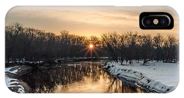 Cannon River Sunrise IPhone Case