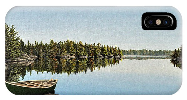 Canoe The Massassauga IPhone Case
