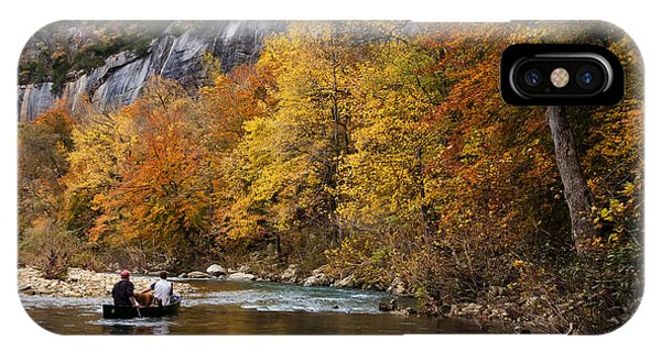 Canoeing The Buffalo River At Steel Creek IPhone Case