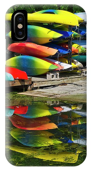 Canoes - Lake Wingra - Madison - Wisconsin IPhone Case