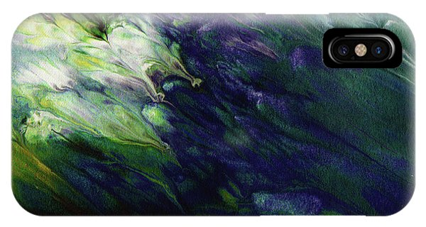 Mustard iPhone Case - Canopy 3- Art By Linda Woods by Linda Woods