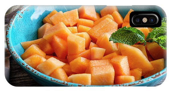 Cantaloupe For Breakfast IPhone Case
