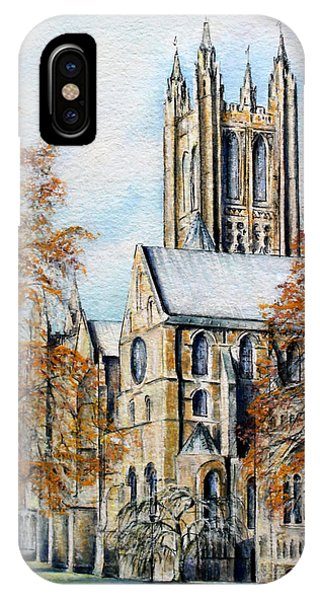 Canterbury Cathedral IPhone Case