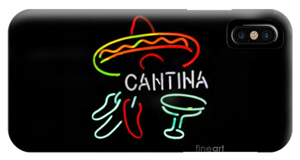 Cantina Neon Sign IPhone Case