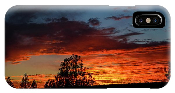 IPhone Case featuring the photograph Canvas For A Setting Sun by Jason Coward