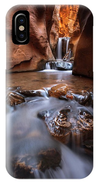 IPhone Case featuring the photograph Canyon Creek by Dustin LeFevre