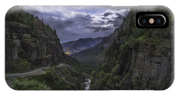 Canyon Creek Sunset IPhone Case