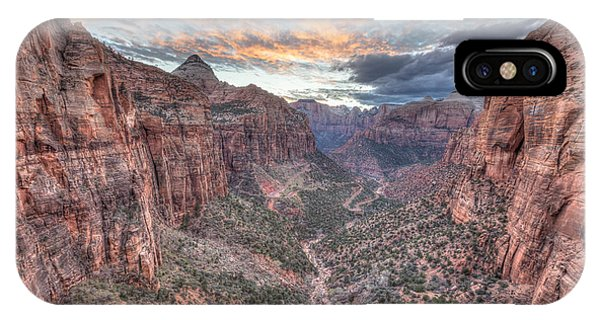 Canyon Overlook IPhone Case