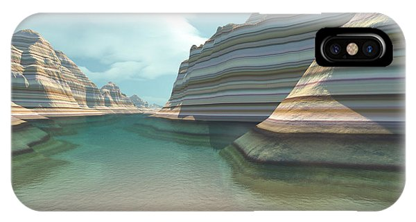 Barren iPhone Case - Canyon River by Corey Ford