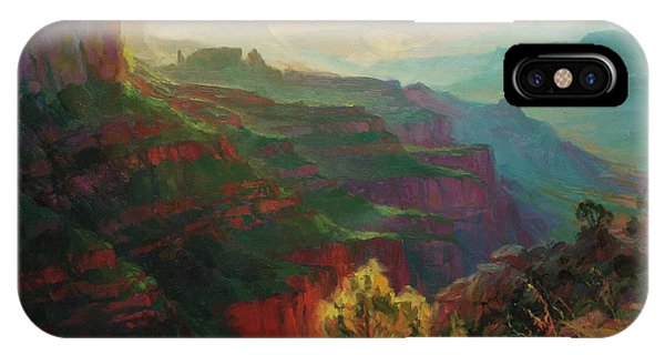 Arizona iPhone Case - Canyon Silhouettes by Steve Henderson