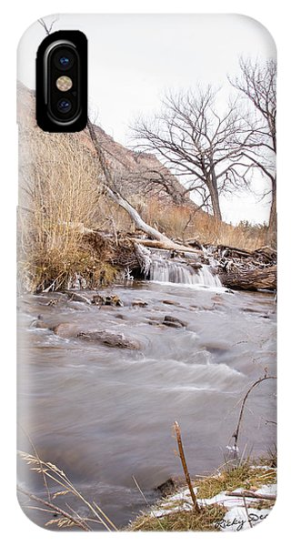 Canyon Stream Falls IPhone Case