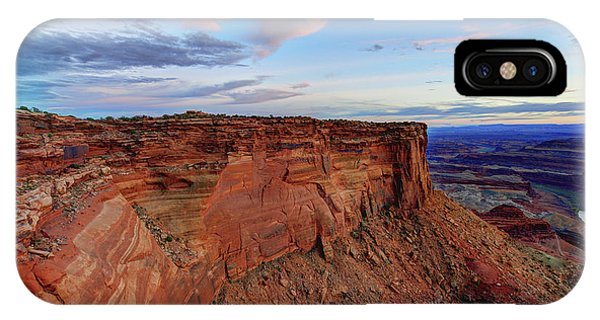View Point iPhone Case - Canyonlands Delight by Chad Dutson