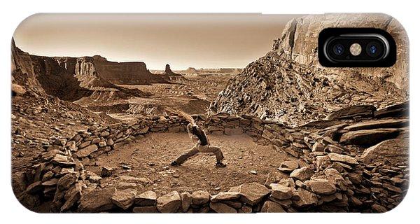 Canyonlands Kiva IPhone Case