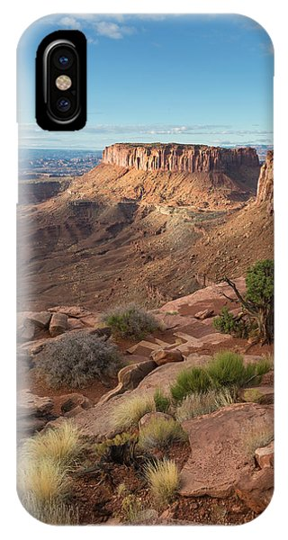 IPhone Case featuring the photograph Canyonlands View by Denise Bush