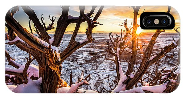 Canyonlands Winter Sunset IPhone Case