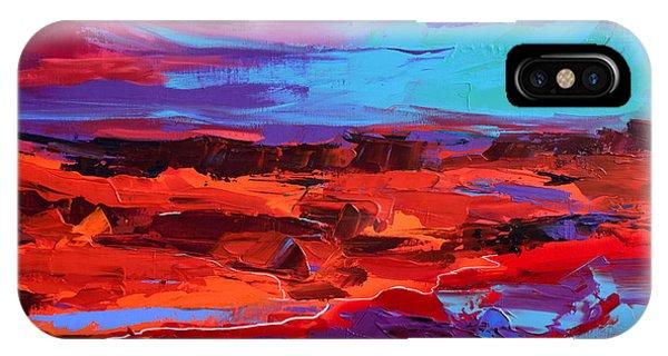 Canyon At Dusk - Art By Elise Palmigiani IPhone Case